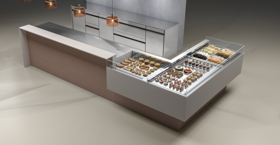 Pastry Display Cabinets 750 Maestro-ORION