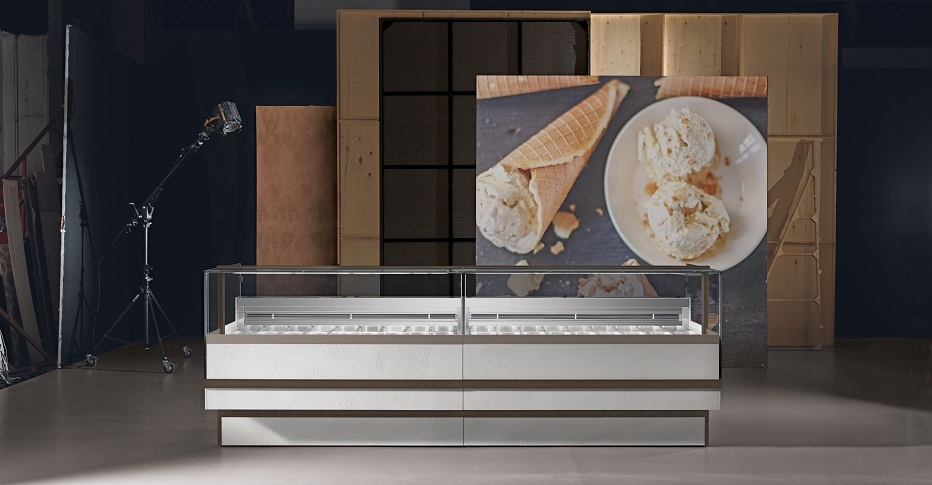 Display Cabinets For Ice Cream Nine-ORION