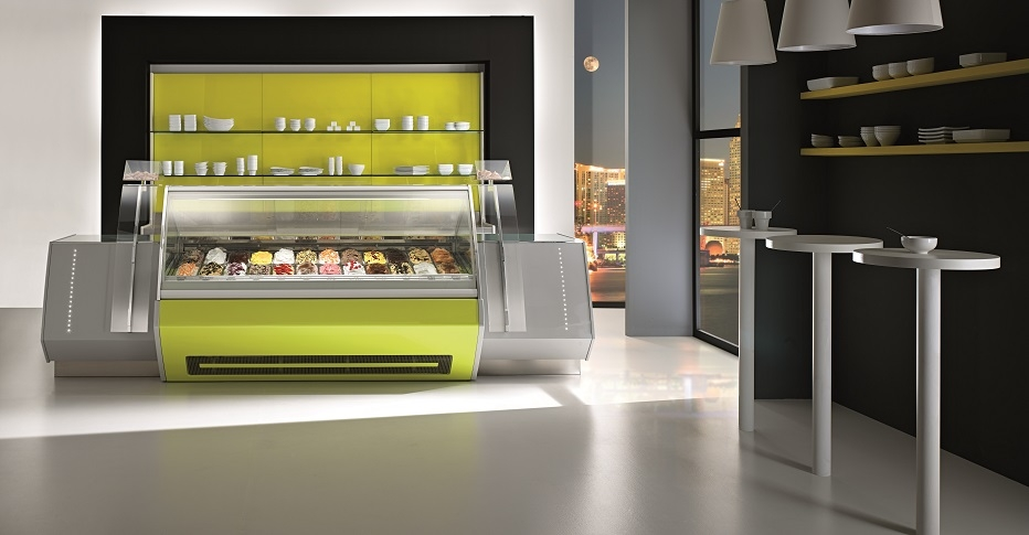 Display Cabinets For Ice Cream Τecnica-ORION